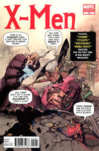 Cover Thumbnail for X-Men (Marvel, 2010 series) #19 [Direct Market Variant by Leinil Francis Yu]