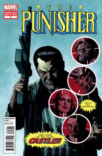 Cover Thumbnail for The Punisher (Marvel, 2011 series) #5 [Variant Edition - Marvel Comics 50th Anniversary - Mike Perkins Cover]