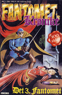 Cover Thumbnail for Fantomets krønike (Semic, 1989 series) #3/1989