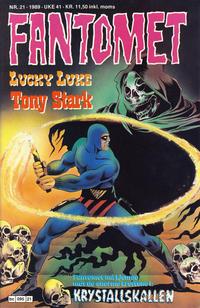 Cover Thumbnail for Fantomet (Semic, 1976 series) #21/1989
