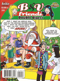 Cover Thumbnail for B&V Friends Double Digest Magazine (Archie, 2011 series) #219 [Direct Edition]