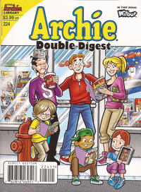 Cover Thumbnail for Archie Double Digest (Archie, 2011 series) #224 [Direct Edition]