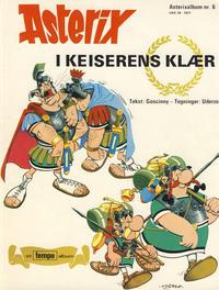 Cover Thumbnail for Asterix (Hjemmet / Egmont, 1969 series) #6 - Asterix i keiserens klær [1. opplag]