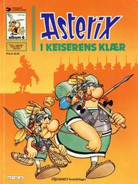 Cover Thumbnail for Asterix (Hjemmet / Egmont, 1969 series) #6 - Asterix i keiserens klær [7. opplag]