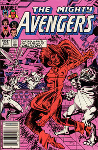 Cover Thumbnail for The Avengers (Marvel, 1963 series) #245 [Newsstand Edition]