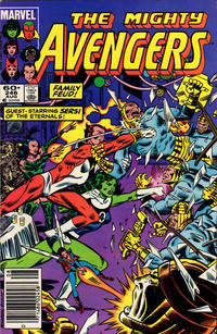 Cover Thumbnail for The Avengers (Marvel, 1963 series) #246 [Newsstand Edition]