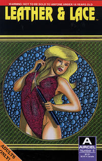 Cover Thumbnail for Leather & Lace (Malibu, 1989 series) #6 [Adults Only]