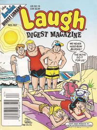 Cover Thumbnail for Laugh Comics Digest (Archie, 1974 series) #167