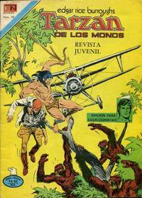 Cover Thumbnail for Tarzán (Editorial Novaro, 1951 series) #555 [Versión Española]