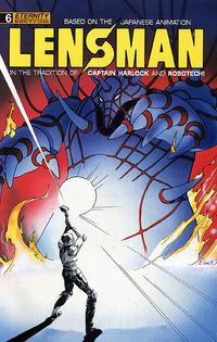 Cover Thumbnail for Lensman (Malibu, 1990 series) #6