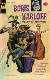 Cover Thumbnail for Boris Karloff Tales of Mystery (Western, 1963 series) #59 [Whitman Variant]