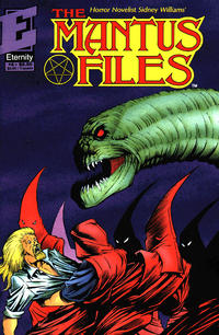 Cover Thumbnail for Mantus Files (Malibu, 1991 series) #4