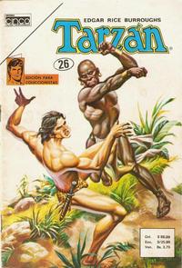 Cover Thumbnail for Tarzan (Editora Cinco, 1983 series) #26