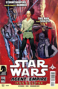 Cover Thumbnail for Star Wars: Agent of the Empire - Iron Eclipse (Dark Horse, 2011 series) #1