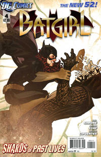 Cover Thumbnail for Batgirl (DC, 2011 series) #4