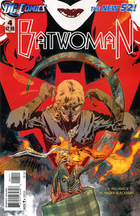Cover Thumbnail for Batwoman (DC, 2011 series) #4 [Direct Sales]