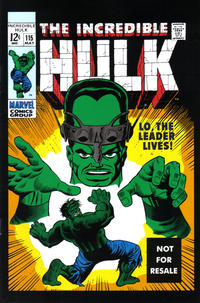 Cover Thumbnail for Incredible Hulk No. 115 [Marvel Legends Reprint] (Marvel, 2005 series)