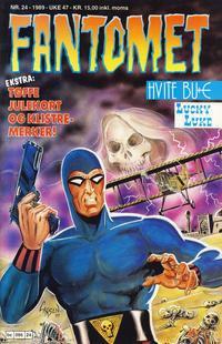 Cover Thumbnail for Fantomet (Semic, 1976 series) #24/1989