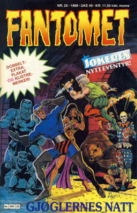 Cover Thumbnail for Fantomet (Semic, 1976 series) #25/1989