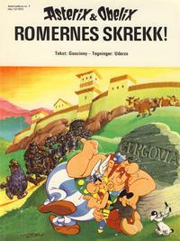 Cover Thumbnail for Asterix (Hjemmet / Egmont, 1969 series) #7 - Romernes skrekk! [1. opplag]