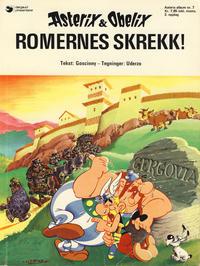 Cover Thumbnail for Asterix (Hjemmet / Egmont, 1969 series) #7 - Romernes skrekk! [2. opplag]