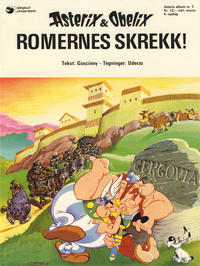 Cover Thumbnail for Asterix (Hjemmet / Egmont, 1969 series) #7 - Romernes skrekk! [4. opplag]