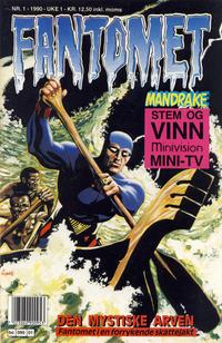 Cover Thumbnail for Fantomet (Semic, 1976 series) #1/1990