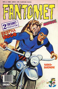 Cover Thumbnail for Fantomet (Semic, 1976 series) #3/1990