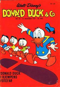 Cover Thumbnail for Donald Duck & Co (Hjemmet / Egmont, 1948 series) #50/1967