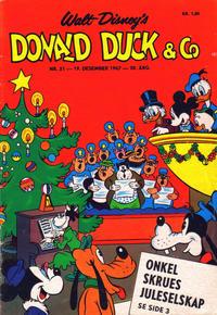 Cover Thumbnail for Donald Duck & Co (Hjemmet / Egmont, 1948 series) #51/1967