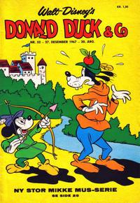 Cover Thumbnail for Donald Duck & Co (Hjemmet / Egmont, 1948 series) #52/1967