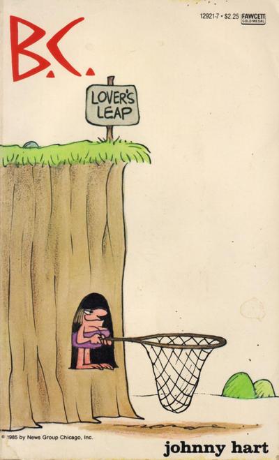 Cover for B.C. Lover's Leap (Gold Medal Books, 1985 series) #12921