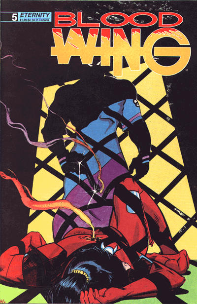 Cover for Blood Wing (Malibu, 1988 series) #5