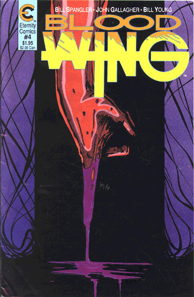 Cover for Blood Wing (Malibu, 1988 series) #4