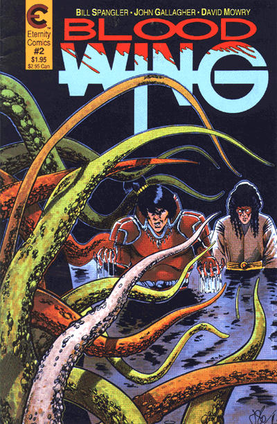 Cover for Blood Wing (Malibu, 1988 series) #2