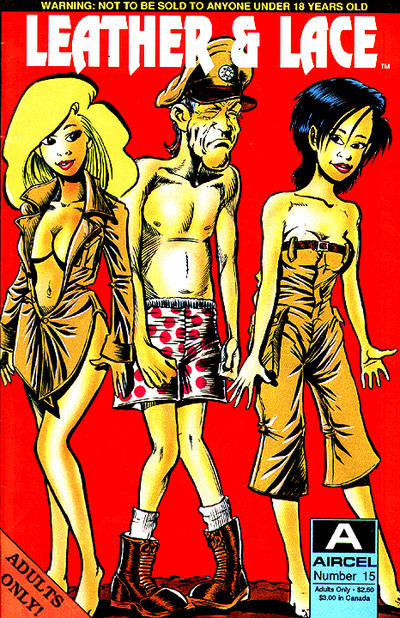 Cover for Leather & Lace (Malibu, 1989 series) #15