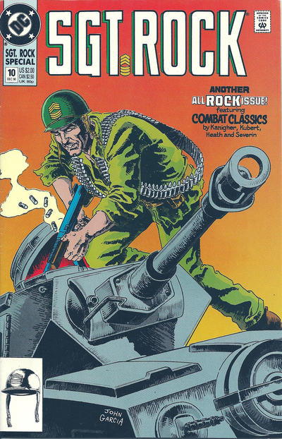 Cover for Sgt. Rock Special (DC, 1988 series) #10 [newsstand]