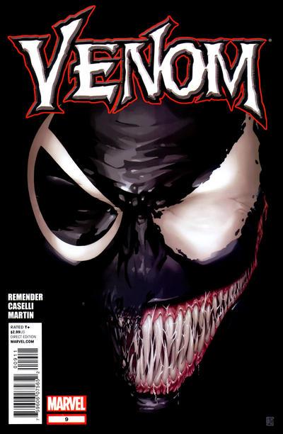 Cover for Venom (Marvel, 2011 series) #9