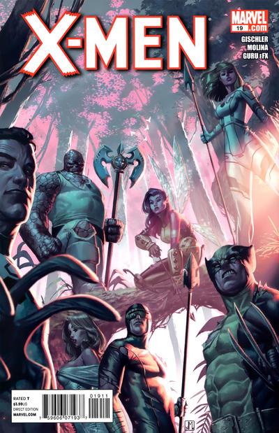 Cover for X-Men (Marvel, 2010 series) #19
