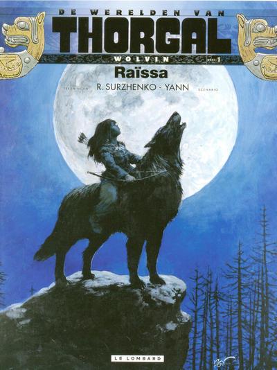 Cover for De werelden van Thorgal - Wolvin (Le Lombard, 2011 series) #1 - Raïssa