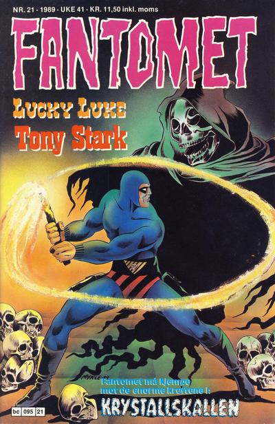Cover for Fantomet (Semic, 1976 series) #21/1989
