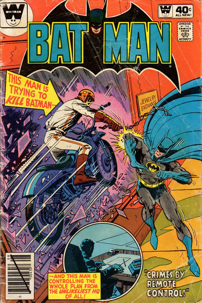 Cover for Batman (DC, 1940 series) #326