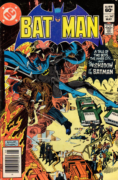 Cover for Batman (DC, 1940 series) #347 [Newsstand Edition]