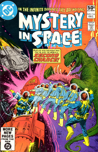 Cover for Mystery in Space (DC, 1951 series) #114 [British]