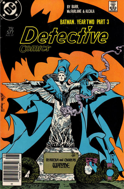 Cover for Detective Comics (DC, 1937 series) #577 [Newsstand Edition]