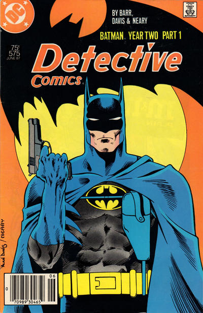 Cover for Detective Comics (DC, 1937 series) #575 [Direct]