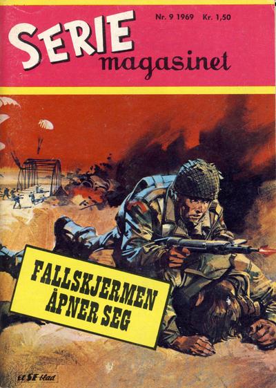 Cover for Seriemagasinet (Serieforlaget / Se-Bladene / Stabenfeldt, 1951 series) #9/1969