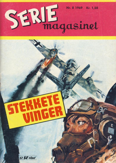 Cover for Seriemagasinet (Serieforlaget / Se-Bladene / Stabenfeldt, 1951 series) #8/1969