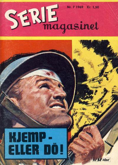 Cover for Seriemagasinet (Serieforlaget / Se-Bladene / Stabenfeldt, 1951 series) #7/1969