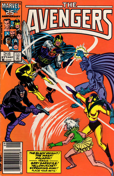 Cover for The Avengers (Marvel, 1963 series) #271 [Newsstand Edition]